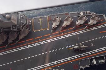 史上最精美辽宁号中国航母大比例模型