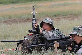 国产新型狙击步枪扬威国际比赛