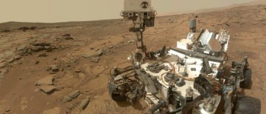 美国宇航局好奇号火星车试图收集火星上的水样