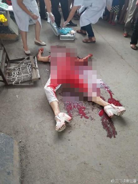 河南一女子街头遭抢遇害 拼命护包被捅死
