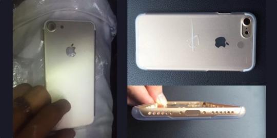 疑似iPhone 7后壳再曝光:摄像头依旧凸起