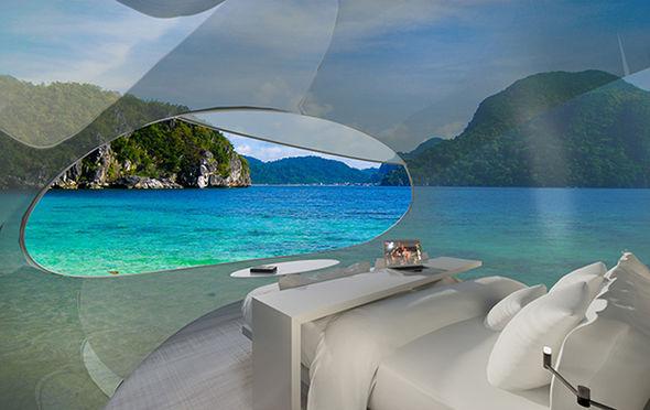 无人机+未来旅馆