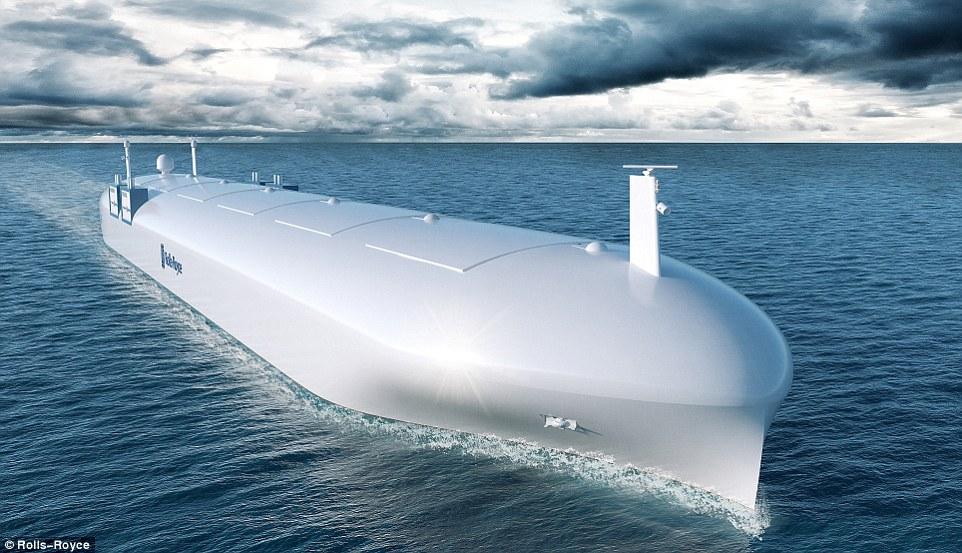 劳斯莱斯打造无人舰 神秘全息甲板远程操控
