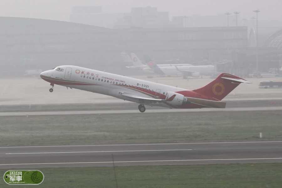 国产客机ARJ21首航 迎来历史性一刻【图】 - 春华秋实 - 春华秋实 开心快乐每一天