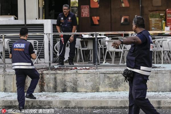 马来西亚一家夜总会外发生爆炸 中国使馆称4名华人受伤