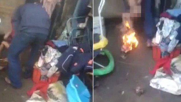 巴拉圭3岁孩童尿床竟遭继父火烧屁股惩罚