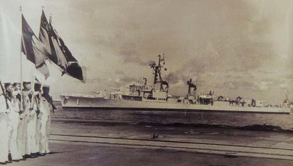 台湾曾拥有亚洲最大驱逐舰舰队