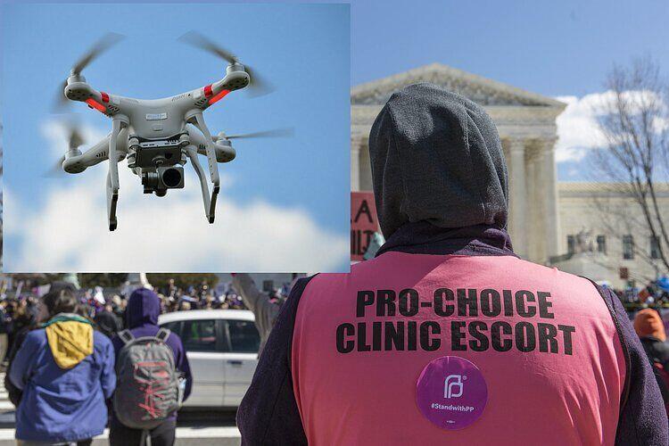 女活动家无人机空投堕胎药物 促进人工流产合法化