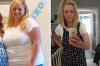 英女子产后6月减重近38公斤