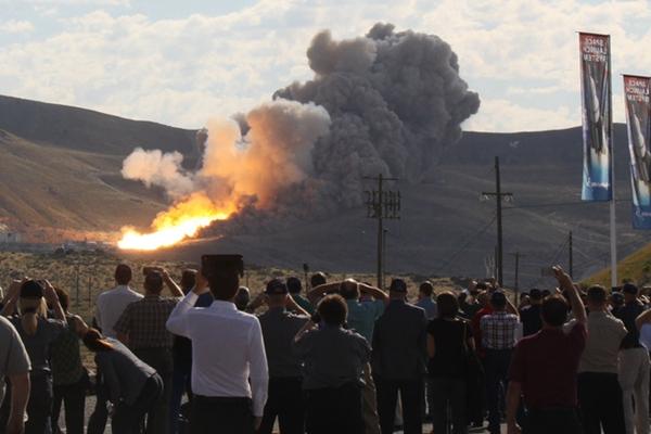美国宇航局史上最强火箭测试成功 登陆火星指日可待
