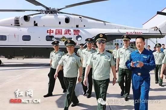 武警众将领带特殊任务密集出京 秦天行动公开