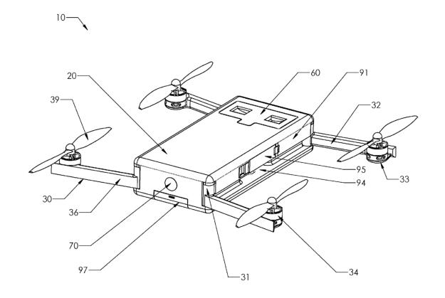 GoPro无人机专利