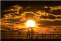 英国惠特比:日出日落 色彩纷呈