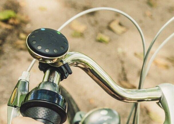 再不怕迷路!卫星导航自行车铃可警示危险指引方向