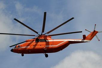 中国又引进一架米-26直升机