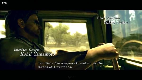 《生化危机5》PS4/PS3画质对比:请告诉我差在哪