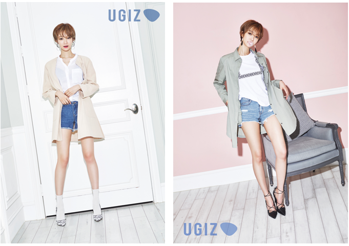 韩国 时尚明星高俊熙教你如何搭配夏日热裤装!