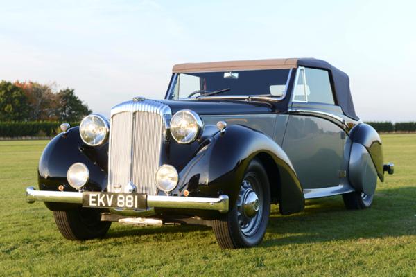 丘吉尔爱车戴姆勒DB18将拍卖 估价26万英镑