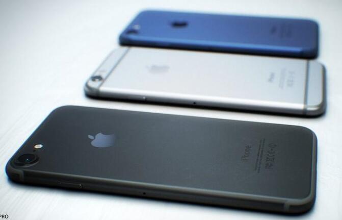 苹果iPhone 7惊艳概念机:深空黑色太炫酷