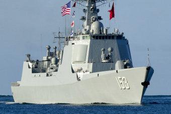 五星红旗飘扬在珍珠港扬威海外