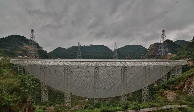 """中国巨型""""天眼""""望远镜完工找外星人非主要目标"""