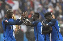 半决赛对阵:法国挑战世界冠军
