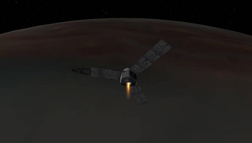 nasa太空探测器成功进入木星轨道 近5年跋涉27亿公里