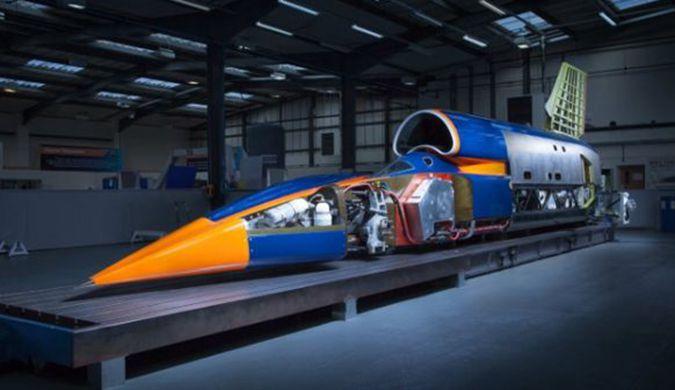 极限超音速跑车又来了 计划明年打破陆上速度纪录