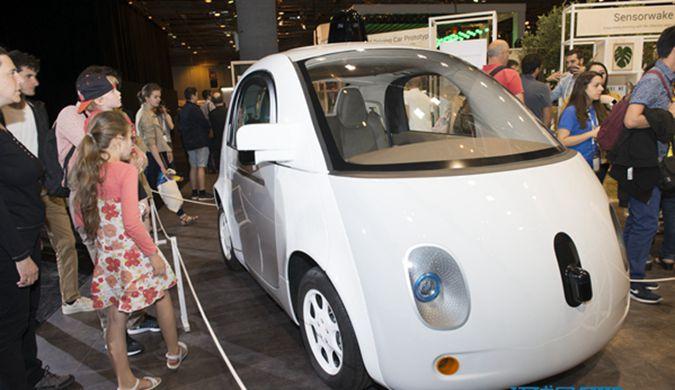 谷歌无人驾驶汽车亮相巴黎 已累计测试241万公里