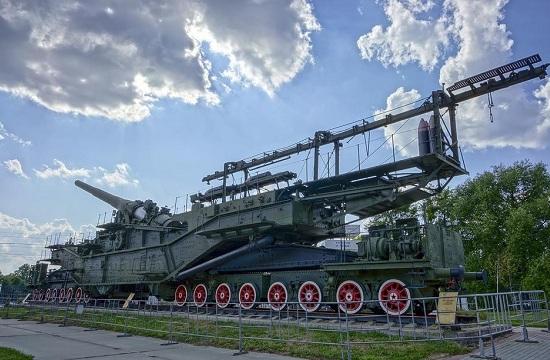 苏联铁道炮威武异常 共造三门