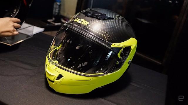 超炫酷智能安全头盔Monaco Evo S图赏