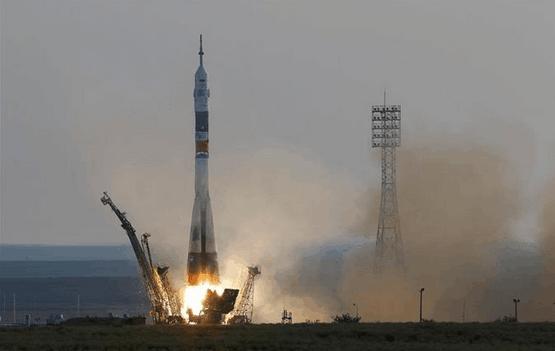 俄联盟号宇宙飞船发射成功 日本宇航员进入太空
