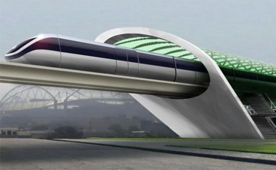 """北欧将建""""超级高铁"""" 开起来速度比飞机还快!"""