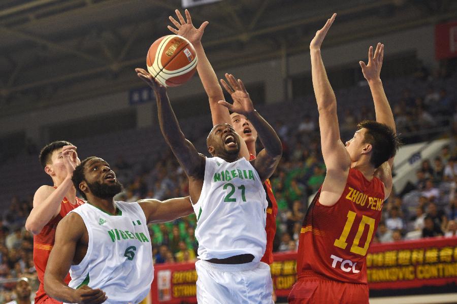 斯杯中国男篮再负尼日利亚 以3败1胜战绩排名垫底