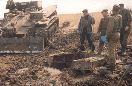 苏联坦克挖出来修复后奇迹开动