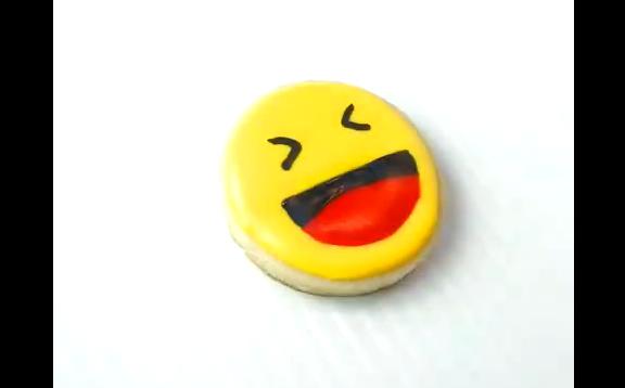 奶油饼干版的emoji表情包 要不要来一打!
