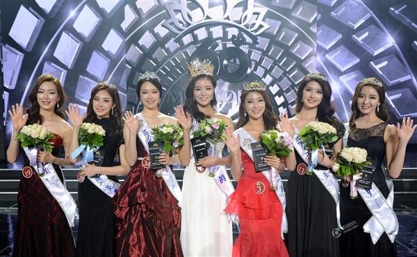 韩国小姐选美大赛:评委瞬间脸盲了