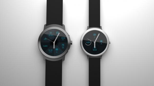 谷歌智能手表渲染图再曝光 圆形表盘颜值超高