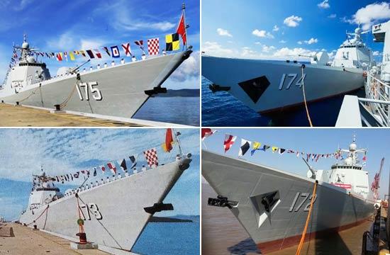 南海舰队已服役4艘052D驱逐舰