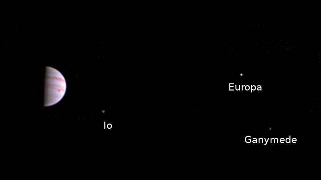 但高分辨率的木星近距离照片要等到八月查看原图