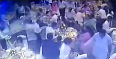 订婚宴正在进行 酒店天花板突坍塌