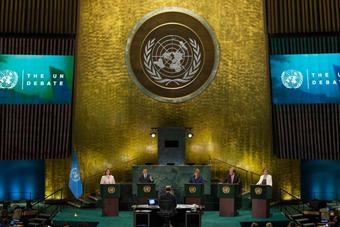 联合国举行首次秘书长候选人电视辩论