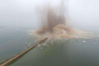 湖北第二大湖泊成功破垸分洪