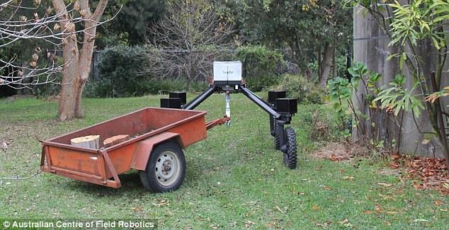 澳英两国大学研发农场机器人 放牛摘菜样样可靠