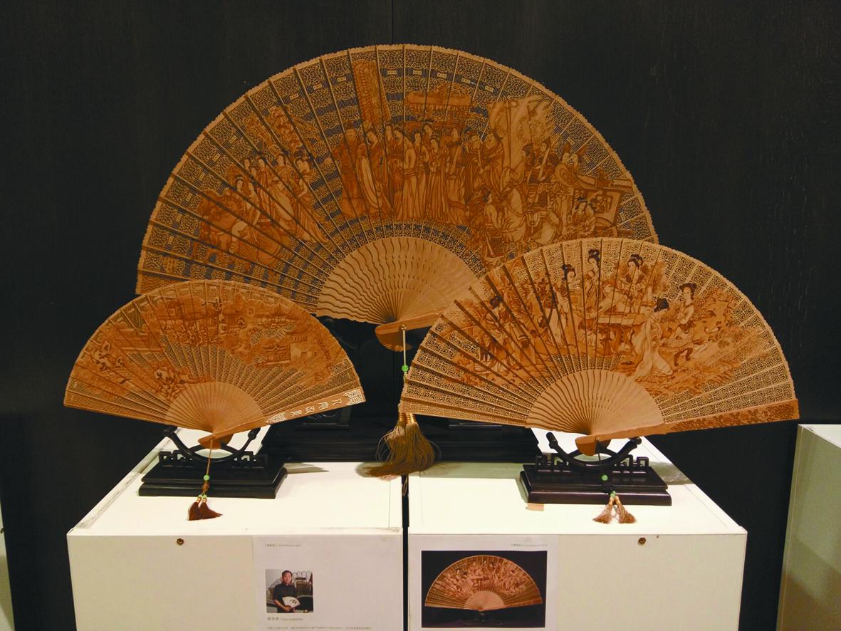 中国雕刻精品亮相维也纳