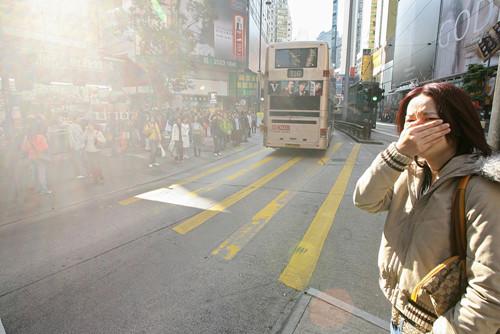 香港空气污染西面最严重 市民健康风险激增