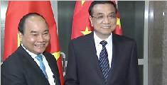 李克强会见越南总理