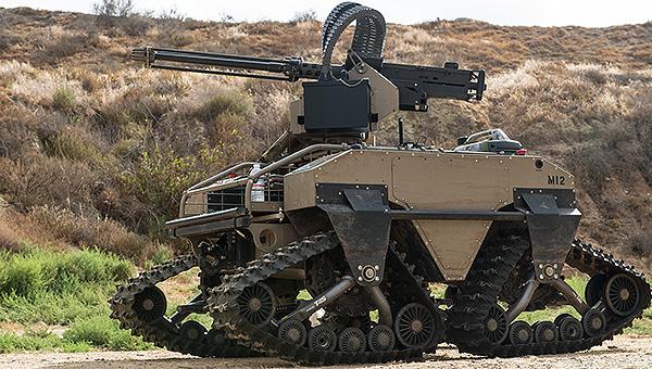 美军新型作战机器人火力强大