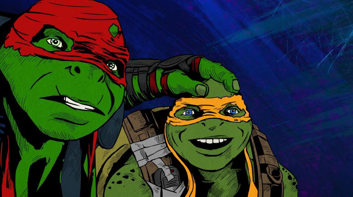《忍者神龟2》发复古风动画MV 重塑童年经典