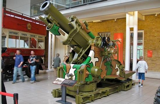 英国重型榴弹炮已有百年历史